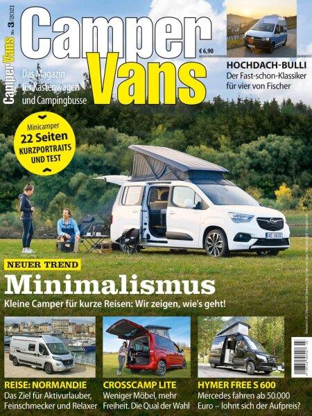 CamperVans 3/2021 E-Paper oder Print-Ausgabe