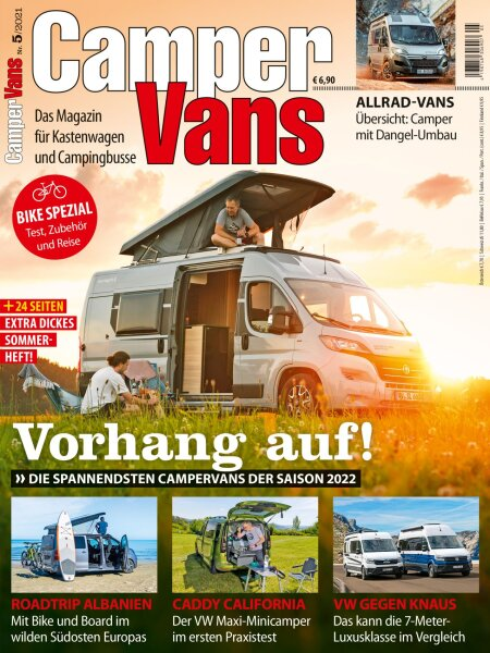 CamperVans 5/2021 E-Paper oder Print-Ausgabe