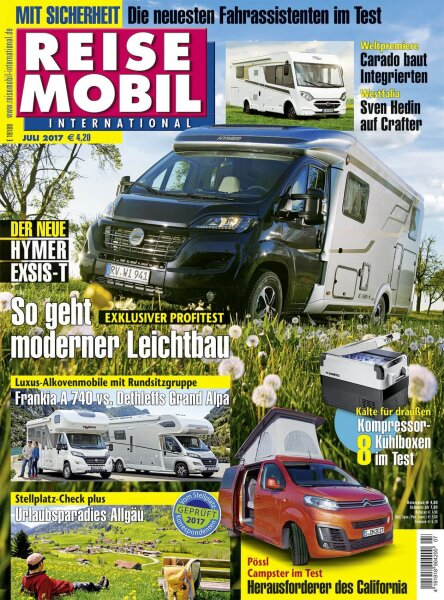 Reisemobil International 7/2017 E-Paper oder Print-Ausgabe