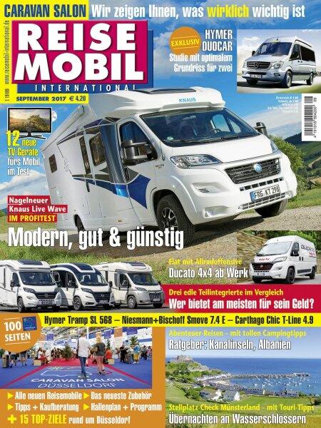 Reisemobil International 9/2017 E-Paper oder Print-Ausgabe