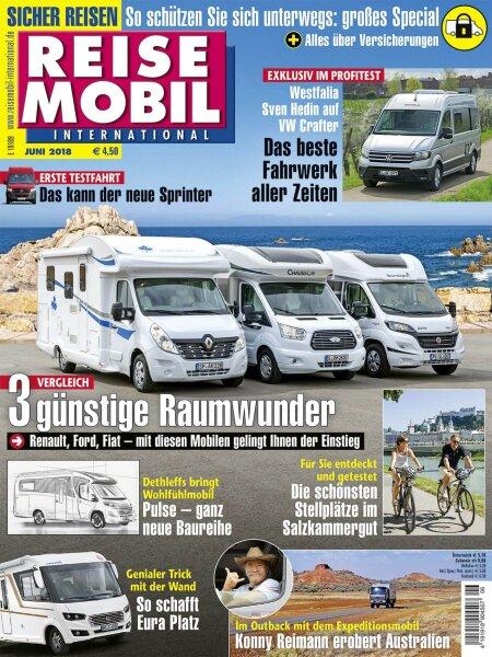 Reisemobil International 6/2018 E-Paper oder Print-Ausgabe