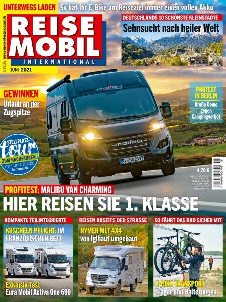 Reisemobil International 6/2021 E-Paper oder Print-Ausgabe