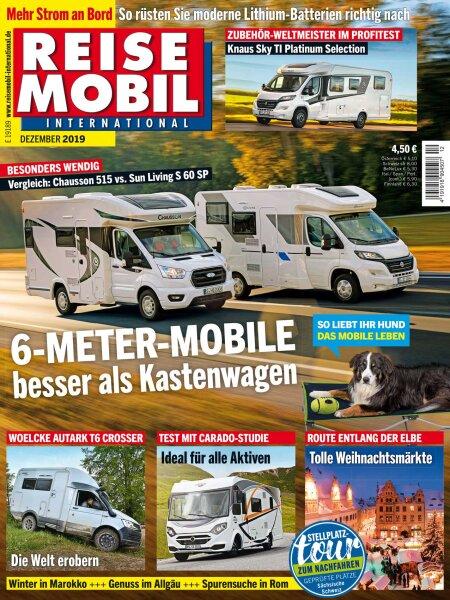 Reisemobil International 12/2019 E-Paper oder Print-Ausgabe