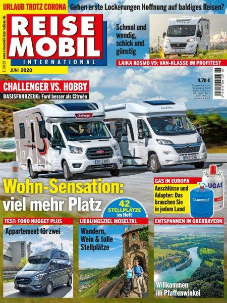 Reisemobil International 6/2020 E-Paper oder Print-Ausgabe