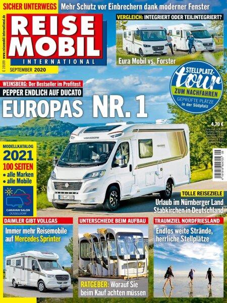 Reisemobil International 9/2020 E-Paper oder Print-Ausgabe