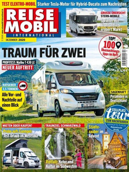 Reisemobil International 12/2020 E-Paper oder Print-Ausgabe