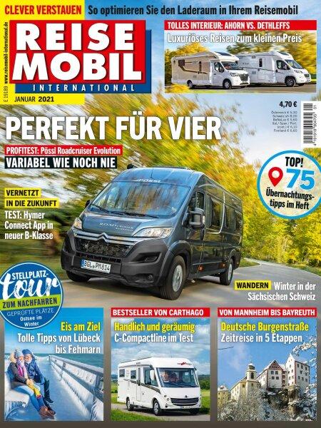 Reisemobil International 1/2021 E-Paper oder Print-Ausgabe