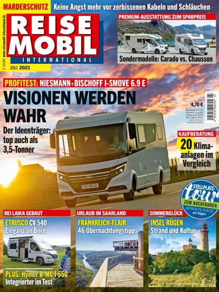Reisemobil International 7/2021 E-Paper oder Print-Ausgabe