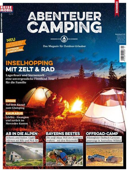 """Abenteuer Camping 1/2019 """"Inselhopping"""" E-Paper oder Print-Ausgabe"""