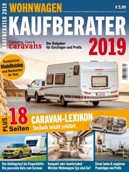 Camping, Cars & Caravans Kaufberater 1/2019 E-Paper oder Print-Ausgabe