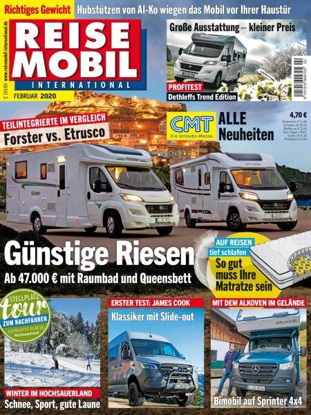 Reisemobil International 2/2020 E-Paper oder Print-Ausgabe