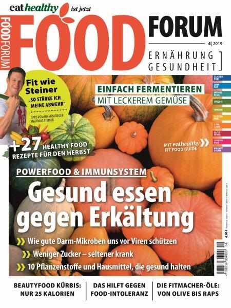 FOODFORUM 4/2019 E-Paper oder Print-Ausgabe