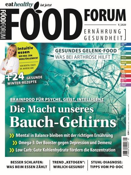 FOODFORUM 1/2020 E-Paper oder Print-Ausgabe
