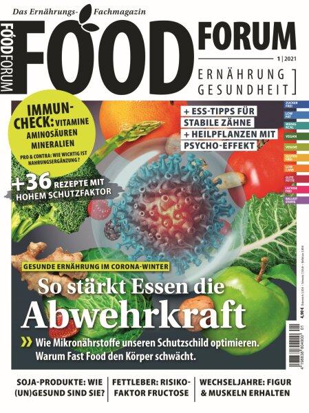 FOODFORUM 1/2021 E-Paper oder Print-Ausgabe