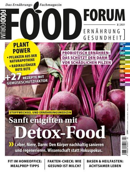 FOODFORUM 2/2021 E-Paper oder Print-Ausgabe