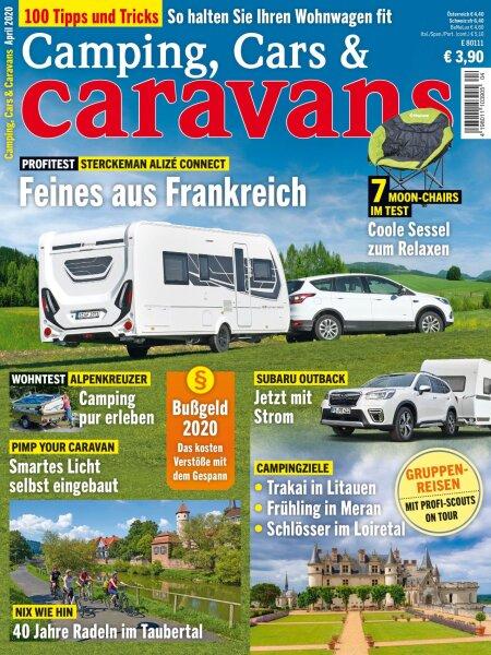 Camping, Cars & Caravans 4/2020 E-Paper oder Print-Ausgabe