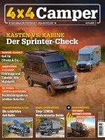 "4x4 Camper 01/2021 ""Kasten vs. Kabine"" E-Paper oder Print-Ausgabe"