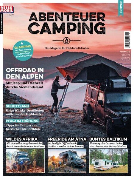 """Abenteuer Camping 1/2020 """"Offroad in den Alpen"""" E-Paper oder Print-Ausgabe"""