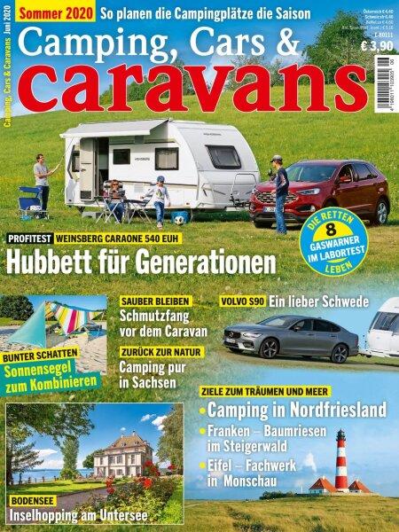 Camping, Cars & Caravans 6/2020 E-Paper oder Print-Ausgabe