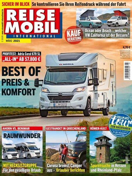 Reisemobil International 3/2021 E-Paper oder Print-Ausgabe