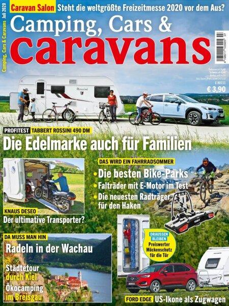 Camping, Cars & Caravans 7/2020 E-Paper oder Print-Ausgabe