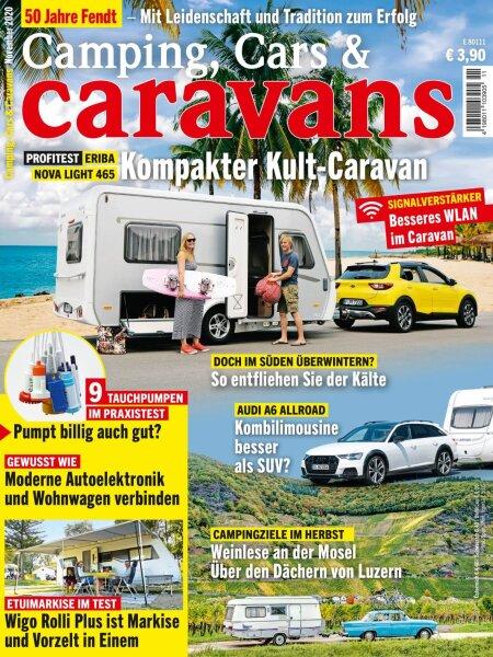Camping, Cars & Caravans 11/2020 E-Paper oder Print-Ausgabe