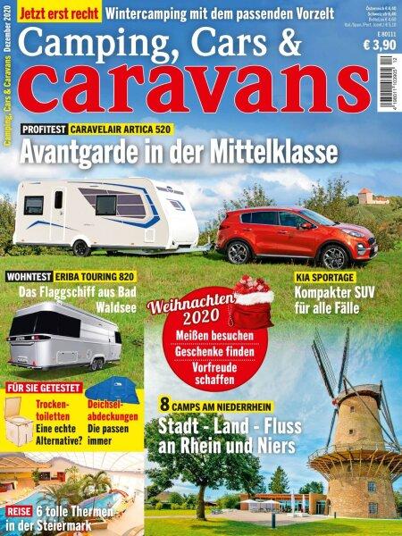 Camping, Cars & Caravans 12/2020 E-Paper oder Print-Ausgabe