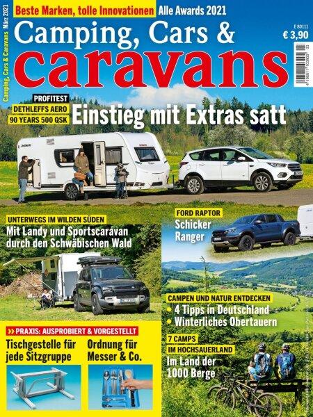 Camping, Cars & Caravans 3/2021 E-Paper oder Print-Ausgabe