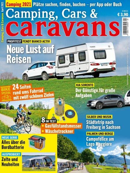 Camping, Cars & Caravans 4/2021 E-Paper oder Print-Ausgabe