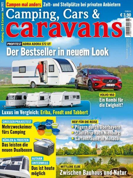 Camping, Cars & Caravans 6/2021 E-Paper oder Print-Ausgabe
