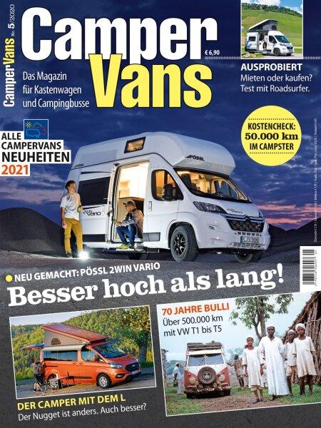 CamperVans 5/2020 E-Paper oder Print-Ausgabe